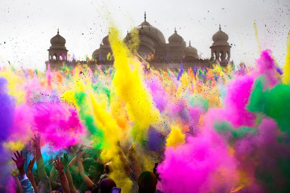 India Celebrations And Festivals Holi Festival in India